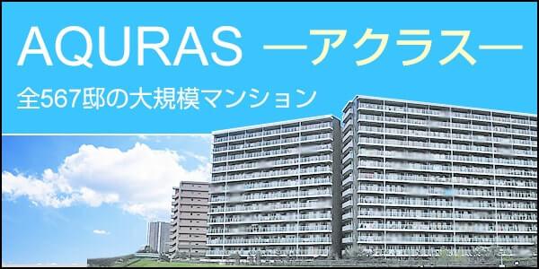 東京楽園都市「アクラス」 全567邸の大規模マンション