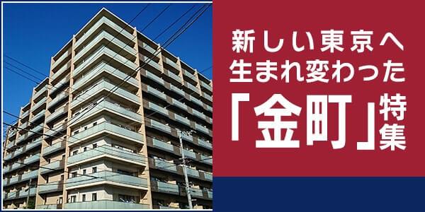 あたらしい東京へ生まれ変わった「金町」特集