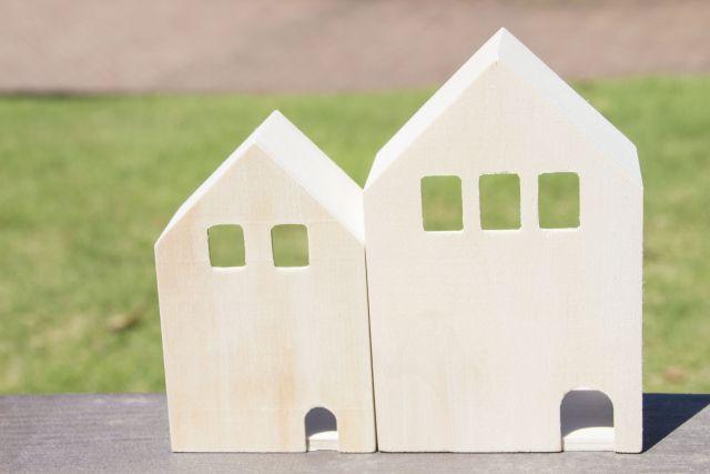 二世帯で暮らせる一戸建て