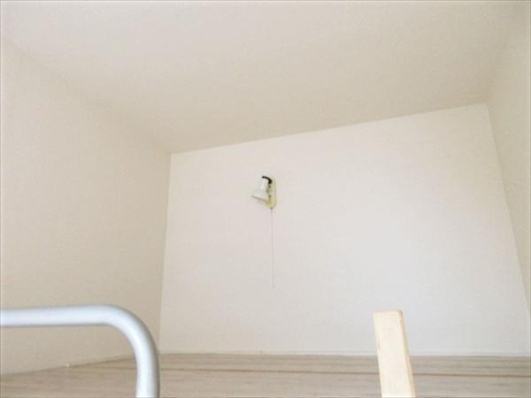 ロフトあり。寝室や物置に便利(参考:205号室)