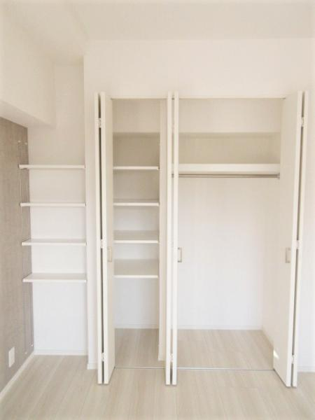 居室に2箇所収納スペースあり