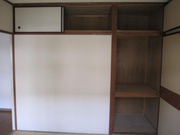 和室4.5帖の収納