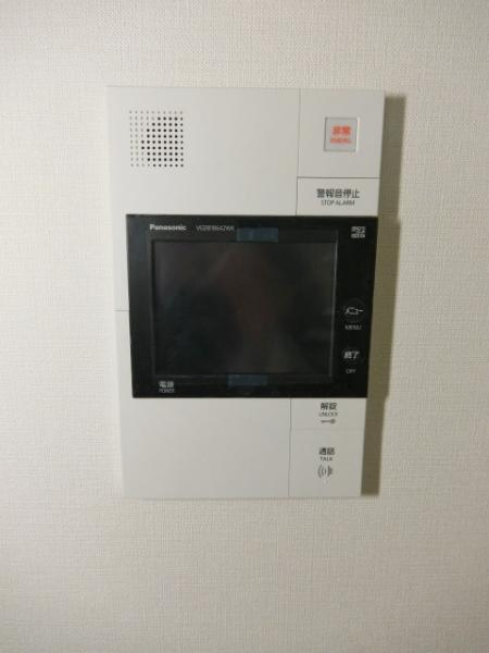 カラーモニター付インターホン(前回募集時)