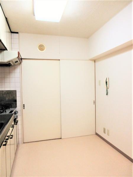 キッチンは約4.5帖!テーブルの配置もできる広さです。