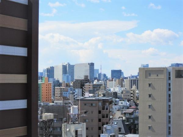 東京タワーの見える眺望