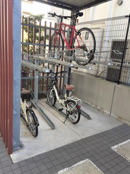 駐輪場有!区画指定有+1台まで無償です