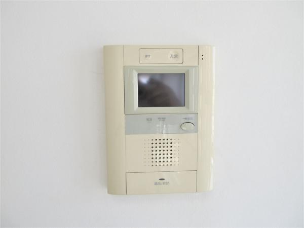 安心のテレビモニター付きインターフォン♪