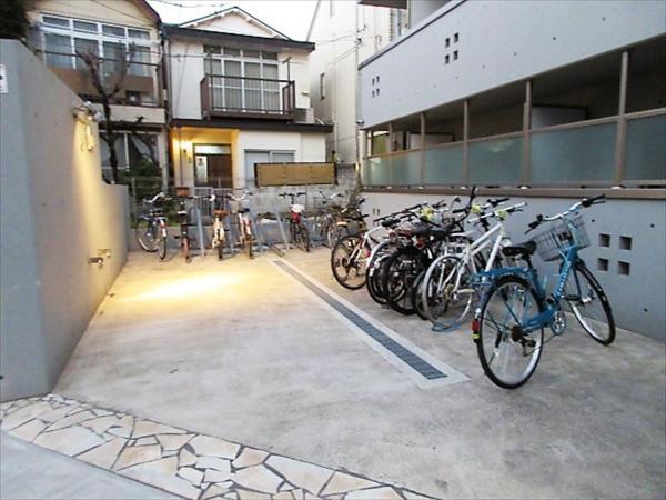 自転車置場◆月額200円です!