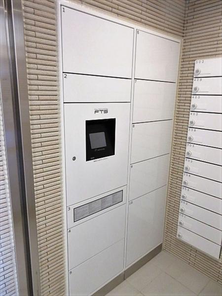 不在時も荷物が受取れ再配達依頼の手間が省ける宅配ボックス