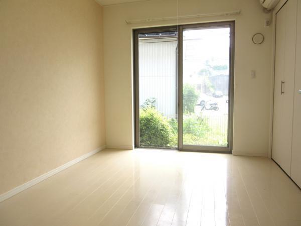 居室約6帖 大型クローゼット、エアコン付