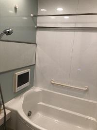 テレビ付き浴室