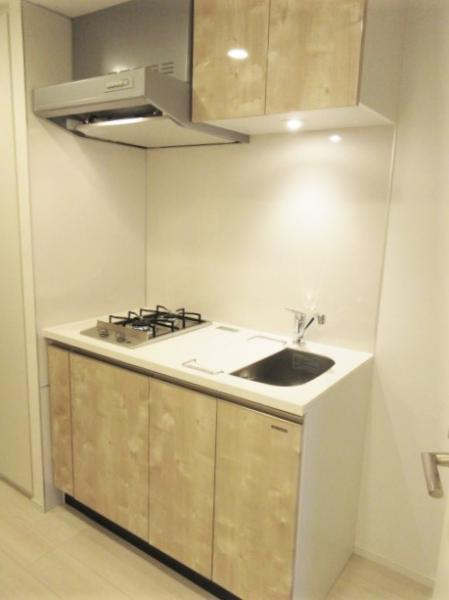 お料理の捗る2口ガスコンロのシステムキッチン