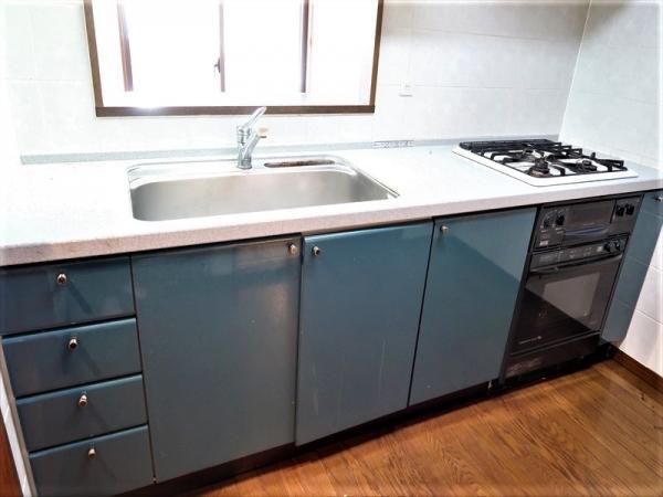洗面室へも出入り可能な2WAYキッチンです!
