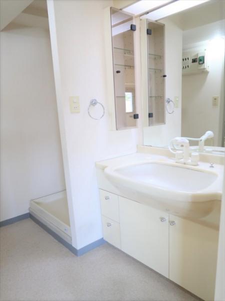 洗面所 独立洗面台/室内洗濯機置き場あり