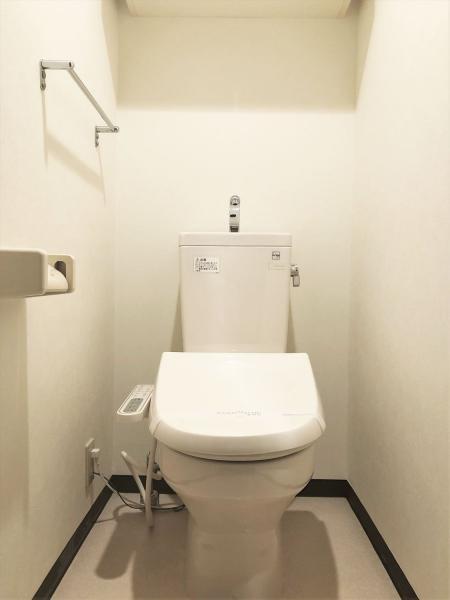 温水洗浄便座※同タイプお部屋の参考写真