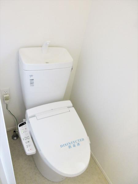 便利な温水洗浄便座あり!