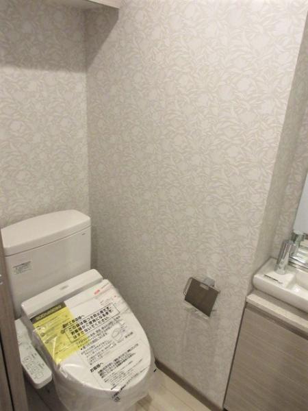 温水洗浄便座・手洗い場付き(写真は前回募集時)