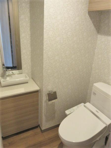 温水洗浄便座・手洗い場付き