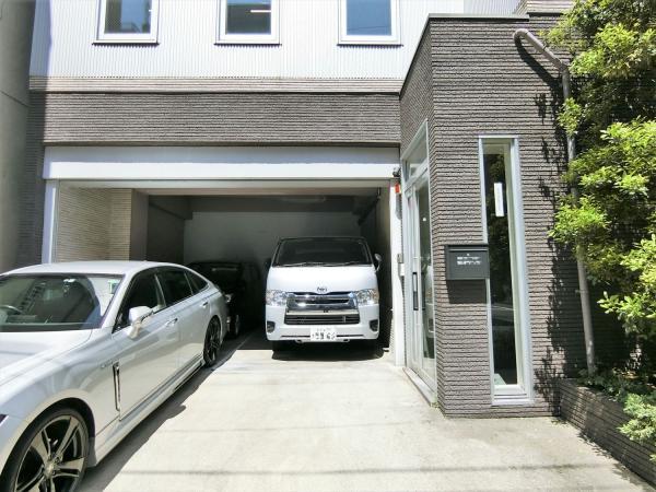 3台程度駐車可能