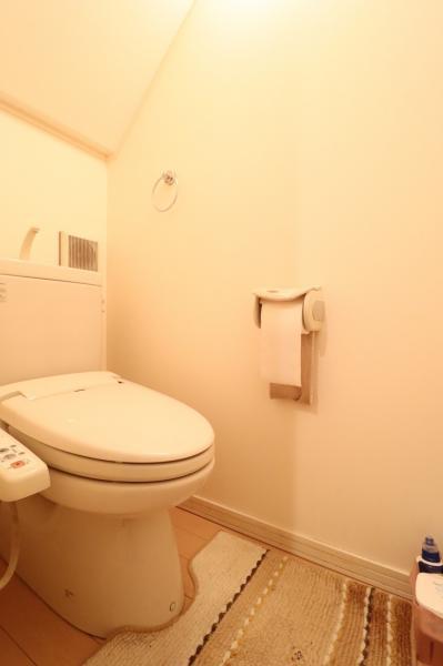 温水洗浄便座のお手洗い