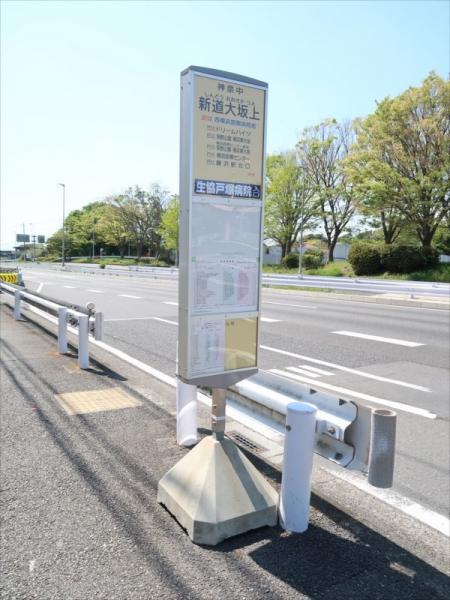 バス停「新道大坂上」