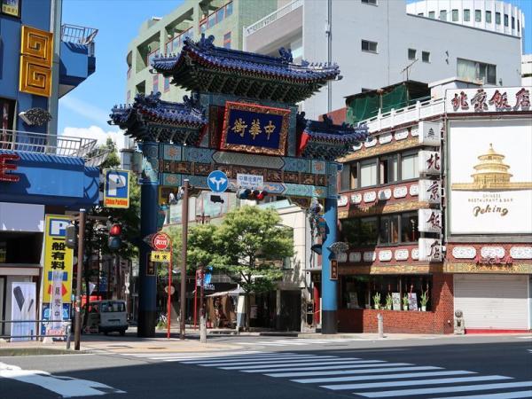 横浜中華街(朝陽門)